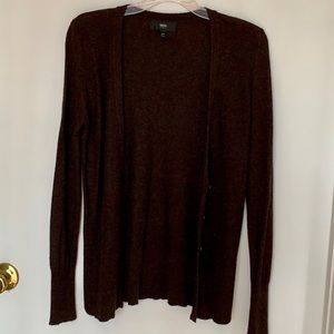 Mossimo brown cardigan